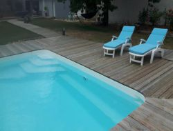 B&B with pool and spa in Poitou Charentes near Perignac