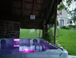 Holiday home with spa close to the Mont St Michel. near Saint Sever Calvados