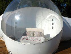 Séjour insolite en bulles transparentes dans l'Aveyron