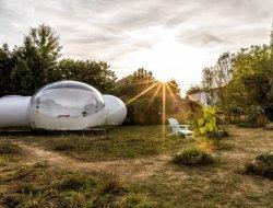 Séjour en bulle transparente près de La Rochelle.