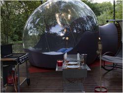 Séjour insolite en bulle avec spa dans le Tarn 81.