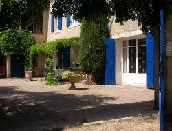 Holiday accommodation with pool in Ardeche, Rhone Alpes. near Uchaux
