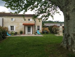 Holiday cottage near St Emilion in Aquitaine, France.