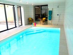 Grand gite avec piscine chauffée à Saumur