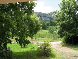 Holiday rental in Nyons, Drome. near Saint May
