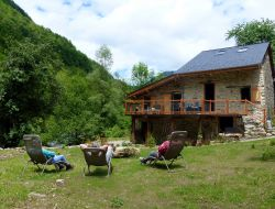 Holiday cottage in French Pyrenean mountains.