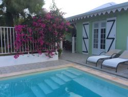 Holiday rental with pool in Martinique, Caribbean island