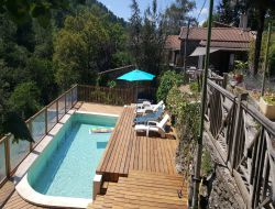 Holiday home with pool in the Gard, Languedoc Roussillon. near Malbosc
