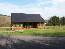 Holiday home near Vulcania in Auvergne, France.