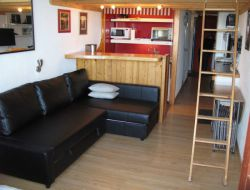 Holiday rental in Paradiski resort in French Alps.