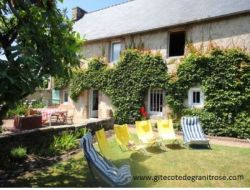 Holiday home near Lannion and Perros Guirec in Bretagne. near Tregastel