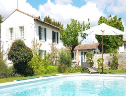 Holiday home with heated pool near La Rochelle, France. near Saint Saturnin du Bois