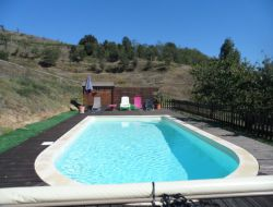 Holiday home with heated pool in Ardeche, France. near Saint Julien Labrousse