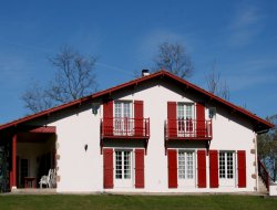Holiday rental in the Pays Basque, south Aquitaine, France.