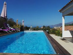 Holiday home with a pool near Ajaccio in Corsica
