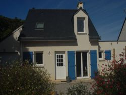 Holiday home on one island of the Golfe du Morbihan, France.