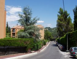 Holiday accommodation near Cannes in France. near Juan les Pins