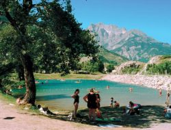 camping mobilhome L'Argentiere La Bessee Hautes Alpes