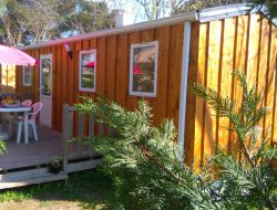 Camping in Pezenas, Languedoc Roussillon. near Meze