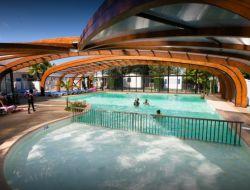 camping avec piscine couverte dans les Landes