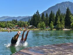 Camping mobilhomes a louer en Savoie.