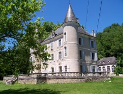B&B in a castle near Rocamadour in France. near Gramat