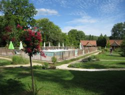 Holiday village near Sarlat in Dordogne, Aquitaine. near Milhac