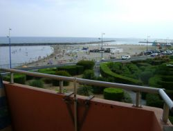 Location en bord de mer a Sète dans l'Hérault.
