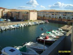 Seaside holiday rental in Sete, South of France.