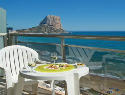 Seafront holiday accommodation in Spain