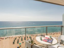 Seafront holiday rental on the Costa Brava, Spain.