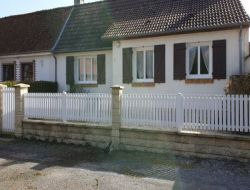 Holiday cottage in the Baie de Somme, Picardy. near Hautvillers Ouville