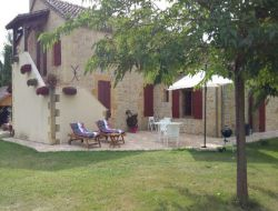 Holiday cottage near Bergerac in Dordogne, France. near Monsac