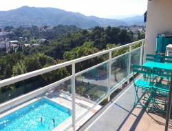 Location vacances avec piscine dans les Alpes Maritimes