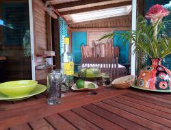 Location de bungalows en Guadeloupe.