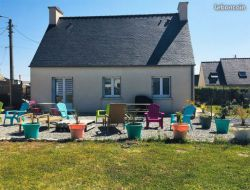 Seaside holiday rental in Brittany, France. near Brest