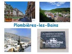 Location vacances à Plombières les Bains.
