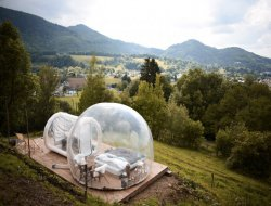 Unusual holiday accommodations in French Pyrenees near Sère Lanso