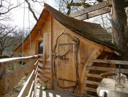 Location de cabanes perchées dans les Vosges
