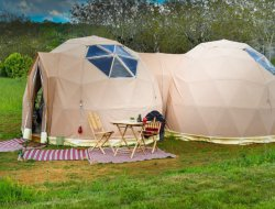 Unusual holiday accommodations in Dordogne, France. near Objat