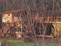 Séjour en cabane dans les arbres dans le Lot et Garonne