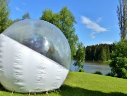Unusual stay in a yurt, a tipi or a bubble in Auvergne near Saint Priest des Champs