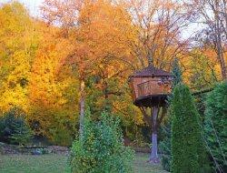 Séjour en cabane dans les arbres en Seine et Marne