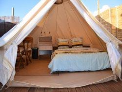 Tente Lodge avec jacuzzi en Martinique
