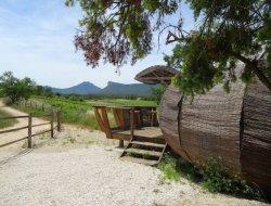 Location d'une cabane écologique dans l'Hérault