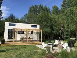 Location d'une tiny house golfe du Morbihan