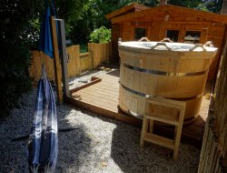Ecological holiday rental near Bordeaux in France. near Saint Aignan Gironde