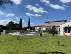 B&B with swimming pool near Carcassonne, in France. near Villeneuve Les Montreal