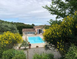 Holiday rental near Avignon in France. near Pernes les Fontaines