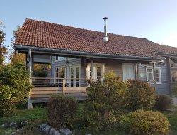 Gîte avec sauna a louer dans le Jura.